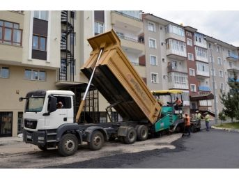 Palandöken Belediyesi Asfalt Çalışmalarına Kesintisiz Devam Ediyor