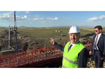 Bakan Ahmet Arslan, Btk Demiryolu Hattında İncelemelerde Bulundu