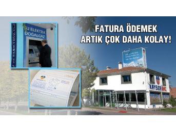 Kayserigaz'da Fatura Ödemek Artık Daha Kolay