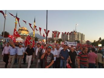 Türk-iş Sendikalarından Kayseri'de Demokrasi Nöbetine Destek