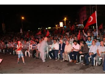 Akhisar'daki Demokrasi Nöbeti 12'nci Gününde