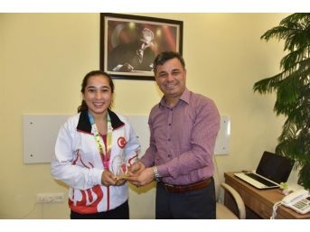 Nur Çınar'dan Başkan Türe'ye Ziyaret
