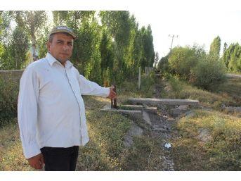 Muş'ta Sulama Kanalları Susuz Kaldı