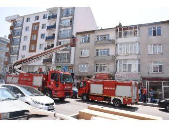 Sinop'ta Yangın Korkuttu