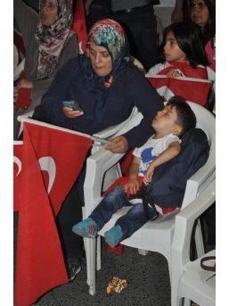 Çerkezköy'de Demokrasi Nöbeti