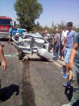 Chp'li Vekil Kazada Yaralandı