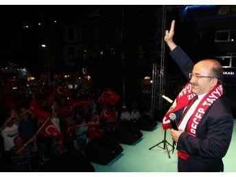 """Gümrükçüoğlu """"gerekirse Aylarca Meydanlarda Olacağız"""""""