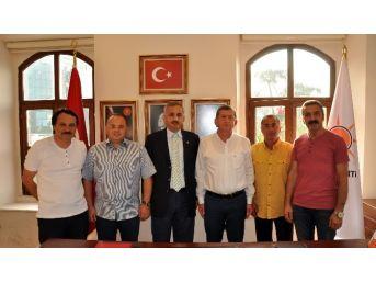 Türkav Trabzon Şubesi'nden Başkan Revi'ye Ziyaret