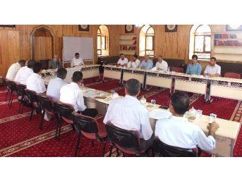 Van'da İlçe Müftüleri Toplantısı