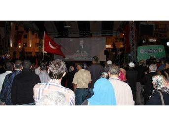 Yozgat'ta Demokrasi Nöbetleri Sürüyor