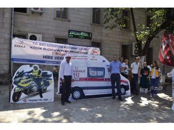 'ambulansa Yol Veriyorum, Hayat Kurtarıyorum' Projesi Halka Tanıtılıyor