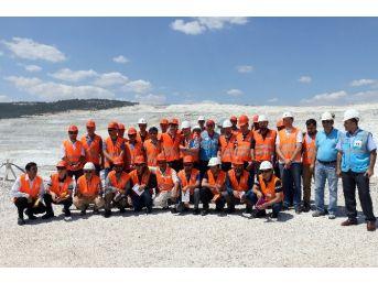 Afganistanlı Maden Ve Jeoloji Mühendislerine Eti Maden Kırka Bor İşletmesine Teknik Gezi