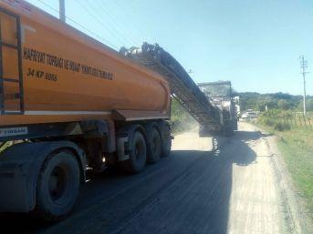 Büyükşehir, Kandıra'nın Köy Yollarında Çalışma Başlattı