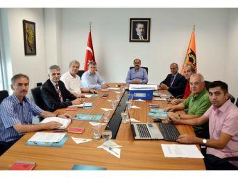 Nkütek Yönetim Kurulu Toplantısı Yapıldı