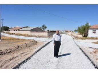 Eskil'de Mahalle Ve Yayla Yolları Asfaltlanıyor