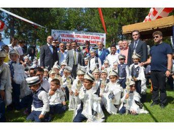 Taşköprü'de Toplu Sünnet Şöleni Düzenlendi