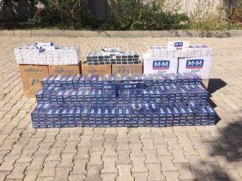 Muş'ta 10 Bin 330 Paket Kaçak Sigara Ele Geçirildi