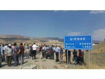 Şırnaklılar İl Statüsünün Korunmasını Kurban Keserek Kutladı