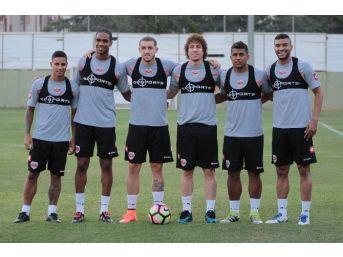 Ligdeki 26 Brezilyalının 7'si Adanaspor'da