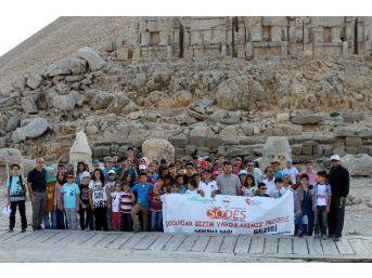 Çocuklar Tarihi Mekanları Tanıyor