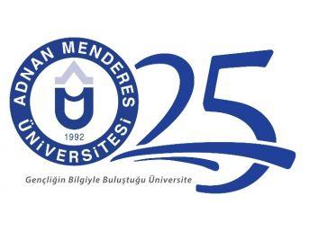 Adü'nün '25. Yıl Özel Logosunu' Aydın Halkı Seçti