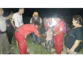 Kaybolan 3 Yaşındaki Kız Çocuğu 17,5 Saat Sonra Bulundu