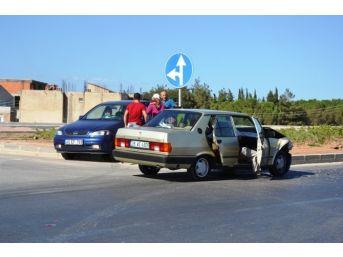 Biga'da Kaza; 1 Yaralı