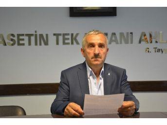 """Ak Parti Şiran İlçe Başkanı Kara'dan """"kardeş"""" İstifası"""