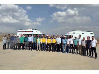 Gümüşhane'de Ambulans Şoförlerine Aste Eğitimi Verildi