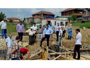 Başiskele'de Kapalı Pazar Yeri Projesinin Temeli Atıldı