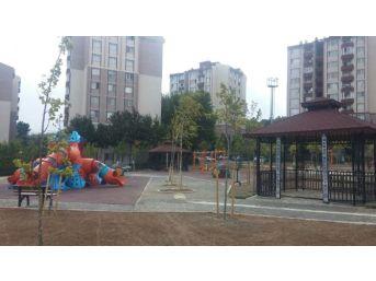 Mutlukent'e Yeni Park İnşa Ediliyor