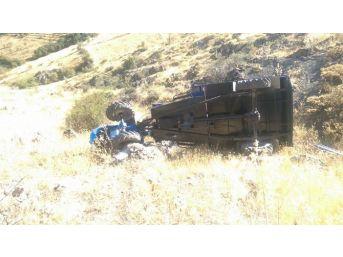 Çapa Motoru Devrildi: 1 Ölü 3 Yaralı