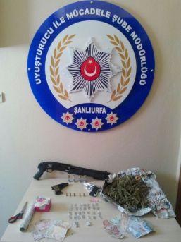 Şanlıurfa'da Uyuşturucu Operasyonunda 10 Kişi Tutuklandı