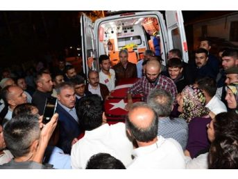 Şehit Polis Öztürk'ün Naaşı Memleketi Uşak'a Getirildi