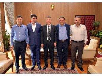Kırıkkale Başkanlarından, Vali Elban'a Ziyaret