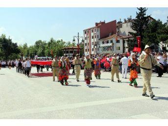 Kastamonu'da, 30 Ağustos Zafer Bayramı Törenle Kutlandı