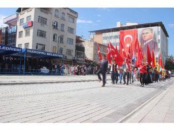 Taşköprü'de Zafer'in 94. Yılı Coşkuyla Kutlandı