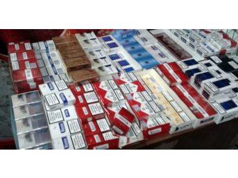 Uşak'ta 297 Bin Paket Kaçak Sigara Ele Geçirildi
