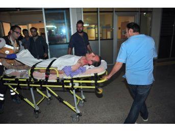 Taksi Şoförünü Bıçakladı, Sürücü Koltuğuna Oturup Jandarmayı Bekledi