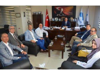 Müsiad, İzmir İşkur İl Müdürü'nü Ziyaret Etti