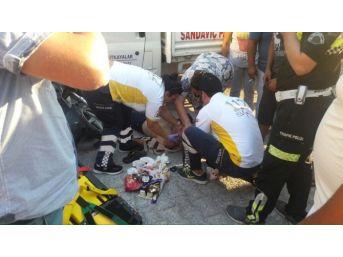 Milas'ta Kaza: 1 Ağır Yaralı