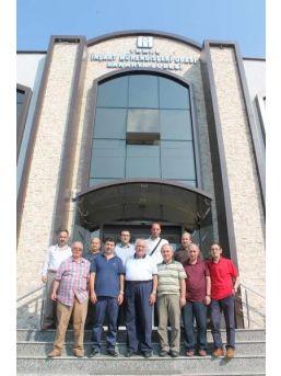 Saü Teknoloji Fakültesi İmo Sakarya Şubesi'ni Ziyaret Etti