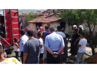 Yangın Çıktı, Ev Sahibi İle Kiracı Birbirine Girdi