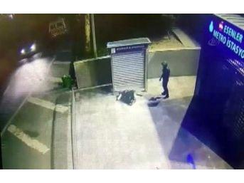 Kaçan Hırsıza Minibüs Böyle Vurdu