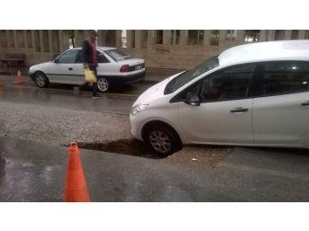 Kırşehir'de Sağanak Yağış