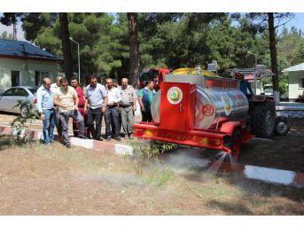 Adana Ve Osmaniye'de Köylülere Çok Amaçlı Su Tankeri Dağıtıldı