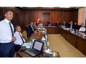 Aydın'da Asayiş Güvenlik Koordinasyon Toplantısı Gerçekleştirildi