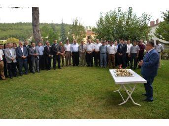 Bilecik Belediye Başkanı Yağcı Belediye Çalışanları İle Bayramlaştı