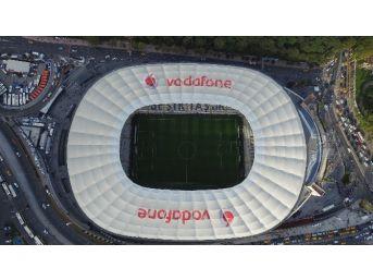 Vodofone Arena İlk Derbi Öncesi Havadan Görüntülendi