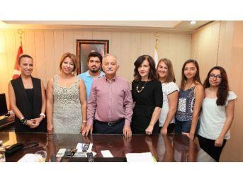 Başkan Karabağ'a Teşekkür Ziyareti